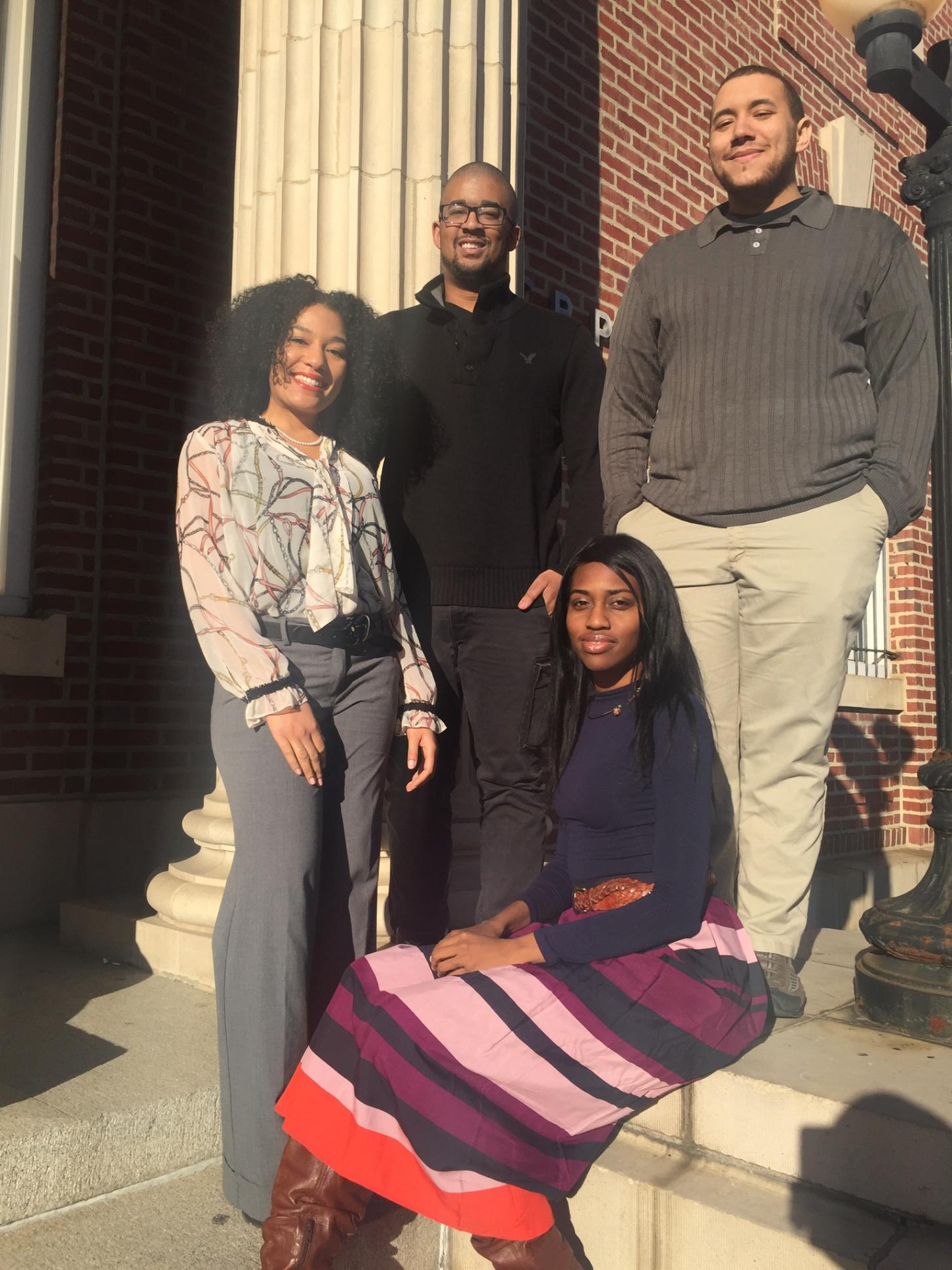 Personality Psychology Graduate Students: Jason Jones, Ricco Hill, Chloe Martin, and Jeva Fort