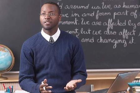 Teacher in the Classroom